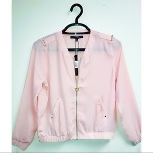 NEW Harve Benard Women's Soft Pink Jacket Size M